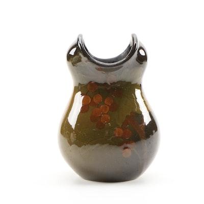 Marian Frances Hastings Smalley Rookwood Pottery Standard Glaze Vase, 1900