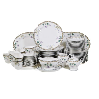 "Noritake ""Le Parc"" China Dinnerware, Ten Place Settings, 64 Pieces"