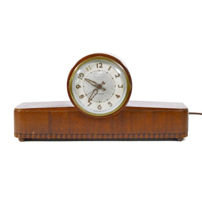 New Haven Westminster Chime Electric Mantel Clock