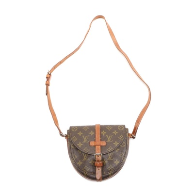 Louis Vuitton Chantilly PM Crossbody Bag in Monogram Canvas and Leather