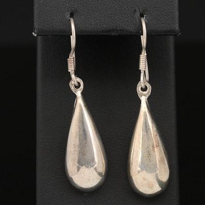 Mexican Sterling Silver Drop Style Earrings