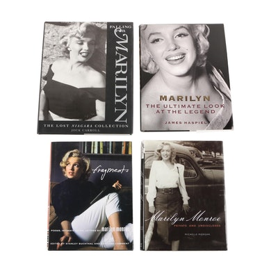 """Fragments: Poems, Intimate Notes, Letters"" by Marilyn Monroe with Other Books"