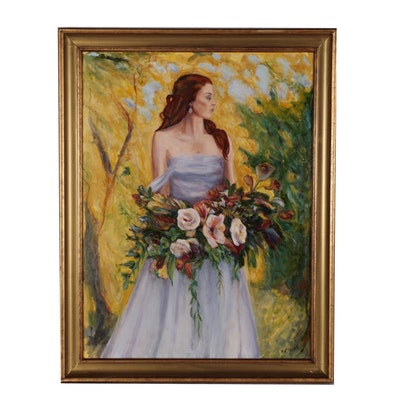 Formal Figure Oil Painting