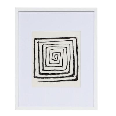 """Alexander Calder Lithograph for """"Derrière le Miroir,"""" 1971"""