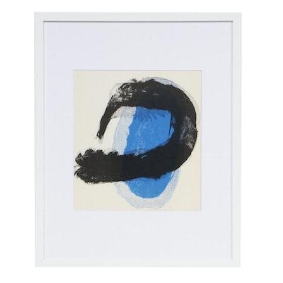 """Joan Miró Color Lithograph for """"Derrière le Miroir,"""" 1961"""