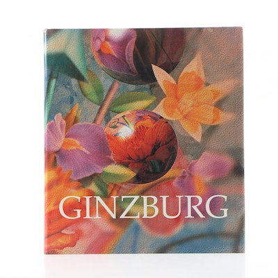 """Signed First Edition """"The Art and Life of Yankel Ginzburg"""" Coffee Table Book"""