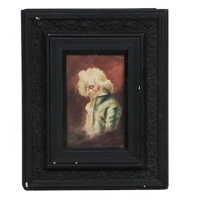 Watercolor Copy Portrait Painting