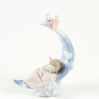 "Lladró ""Heaven's Lullaby"" Porcelain Figurine Designed by Antonio Ramos"