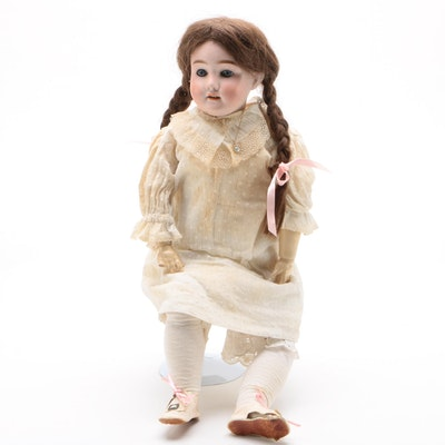 """23"""" Kley & Hahn """"Special"""" Porcelain Doll, Made in Germany, Antique"""