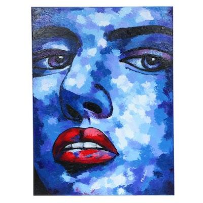 "Oluwakemi Omowaire Oil Painting ""Unbroken"""
