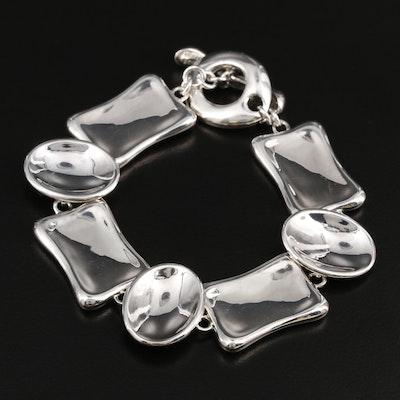 Robert Lee Morris Sterling Silver Bracelet