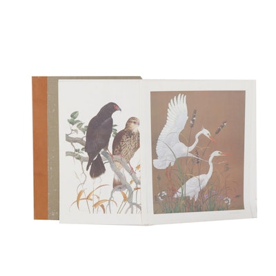 """Robin Hill Offset Lithographs From the Folio """"The Lost and Vanishing Species"""""""