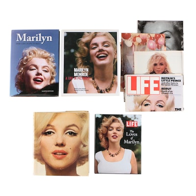 """Photo-essay """"Marilyn Monroe: A Life in Pictures"""" with More Marilyn Monroe Books"""