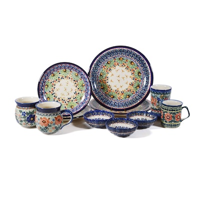 Boleslawiec Polish Pottery Plates, Mugs and More