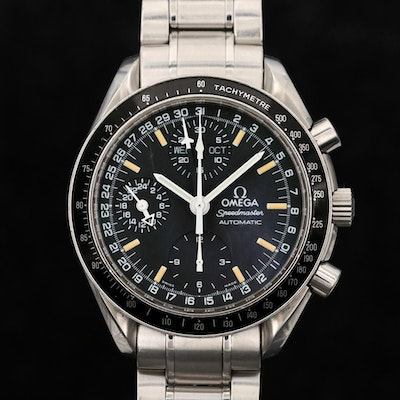 Omega Speedmaster Day-Date MK40 Automatic Stainless Steel Wristwatch