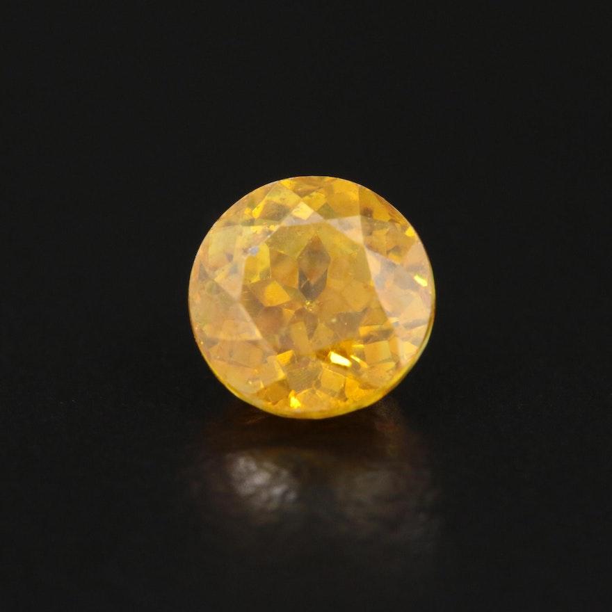 Loose 1.29 CT Sphalerite Gemstone