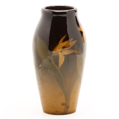 Grace Hall Rookwood Pottery Standard Glaze Vase, 1905
