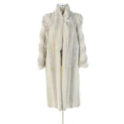 Avec Tu Faux Fur Coat