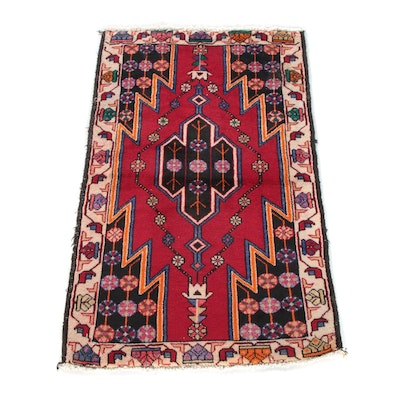 2'6 x 4'1 Hand-Knotted Turkish Anatolian Taspinar Wool Rug