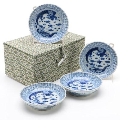 Japanese Imari Porcelain Plates, 19th Century