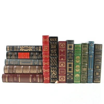 Leather Bound Franklin Library and Easton Press Book Collection