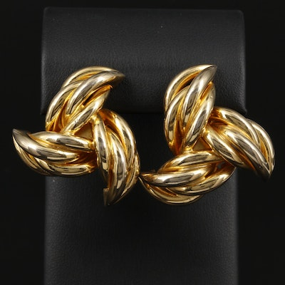 Vintage Givenchy Clip-On Earrings