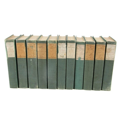 """Limited Memorial Edition """"The Writings of Thomas Jefferson"""" Partial Set"""