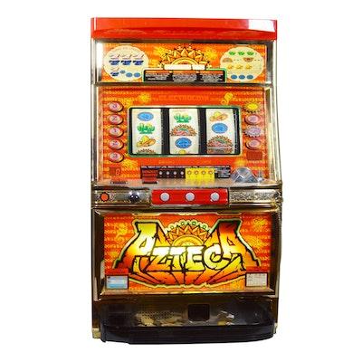 "Electrocoin ""Azteca"" Pachislo Slot Machine"
