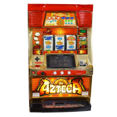 "Eleco Ltd. ""Azteca: The Legend Returns"" Pachislo Slot Machine"