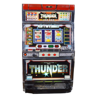 "Macy ""Thunder"" Coin Slot Machine"