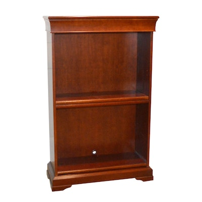 Cherry Stained Bookcase, Late 20th Century