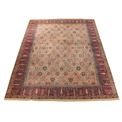 "12'2 x 14'6 Machine Made Karastan Samovar ""Persian Vase"" Wool Room Sized Rug"
