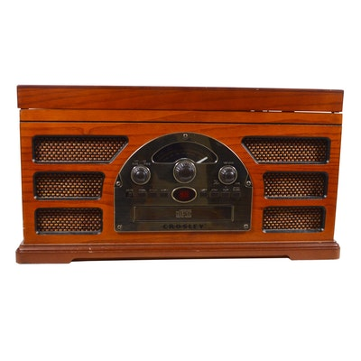 Crosley Rochester 5-In-1 Stereo System, CR66