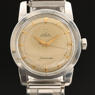 Omega Seamaster Stainless Steel Bumper Automatic, 1952