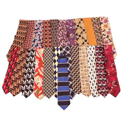 Tom James, Ziggurat by Mulberry Neckwear, Cezani and Other Silk Neckties