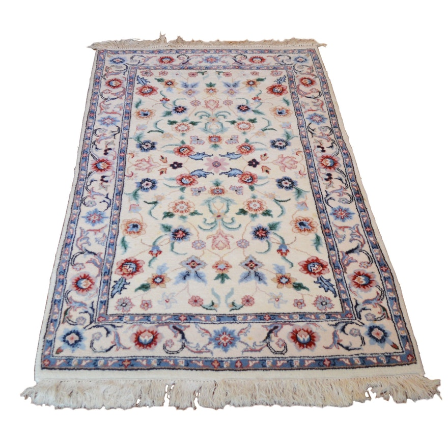 3' x 5' Hand Knotted Transitional Wool Area Rug