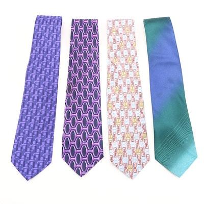 Gucci Printed Silk Neckties