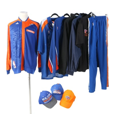 New York Knicks and Yankees Apparel and Hats