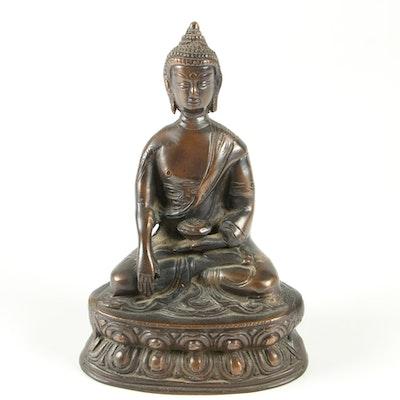 Bronze Siddhārtha Gautama Statuette