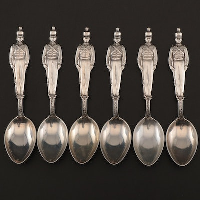 Watson Sterling West Point Cadet Demitasse Spoons