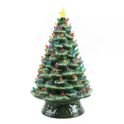 Mr. Christmas Illuminated Ceramic Christmas Tree