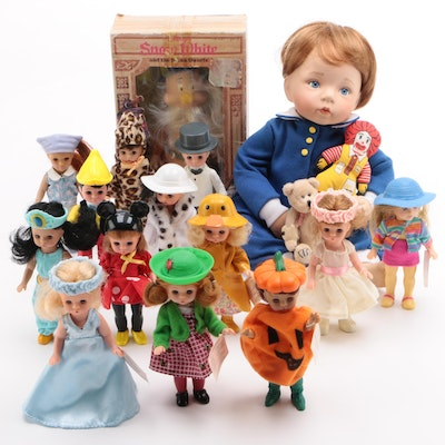 Madame Alexander and McDonalds Vinyl Dolls and More