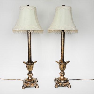 Beaded Buffet Lamps, Contemporary