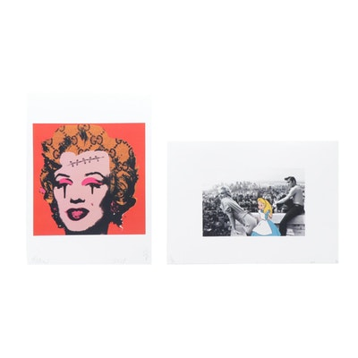 Raw and Missing Piece Graphic Prints