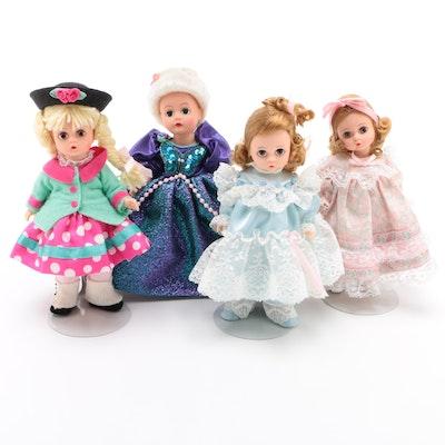 "Madame Alexander Vinyl Dolls Including ""Fairy Godmother"" and ""Suzie Q"""