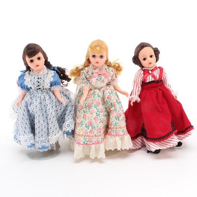 "Madame Alexander ""Little Women"" Series Vinyl Dolls"