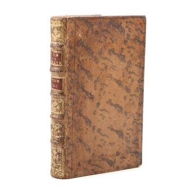 """Scarce 1785 """"Suite de la Vie et des Opinions de Tristam Shandy"""" by L. Stern"""