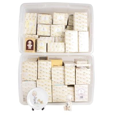 Enesco Precious Moments Porcelain Figurines, Music Box and Miniatures