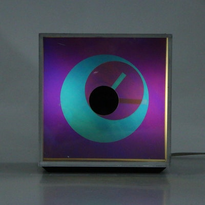"Chrono Art ""Prisma II TL"" Tabletop Clock"