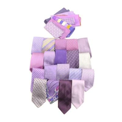 Giorgio Armani, Peter Elliot, Nautica with Other Neckties and Pocket Squares